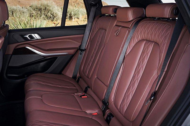 2018 BMW X5 rear seats