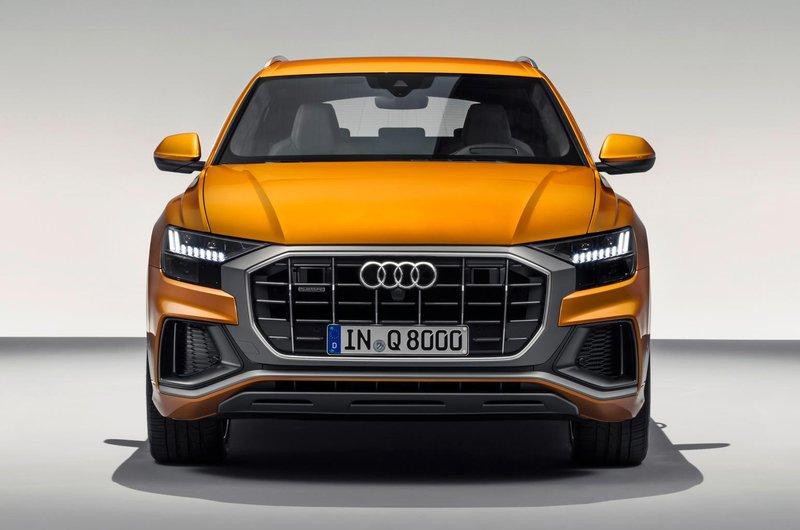 Audi Q8 nose