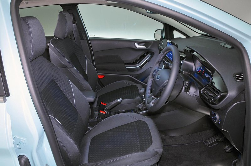 Ford Fiesta seats
