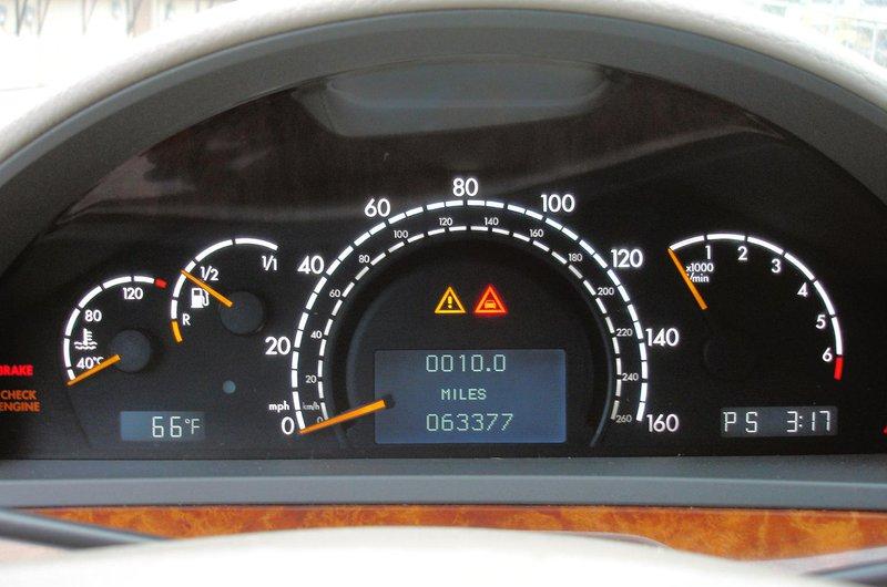 Digital car odometer