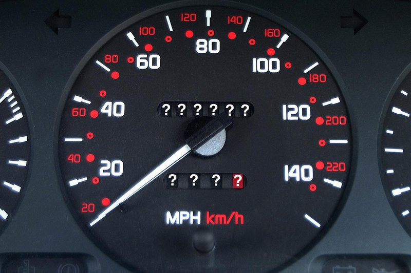6. Keep checking the odometer