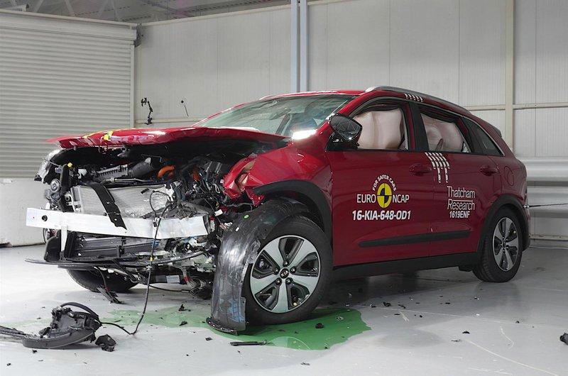 Kia Niro crash test