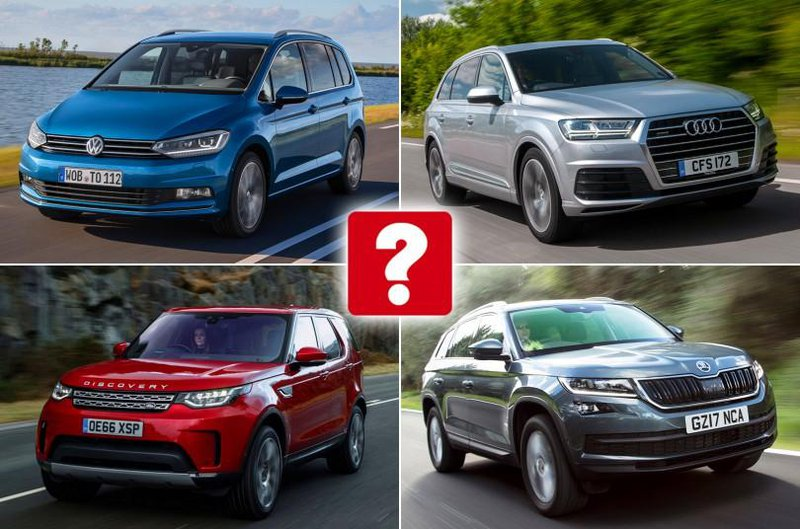 Our favourite seven-seat cars