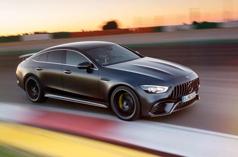 Mercedes-AMG GT 4dr Coupé