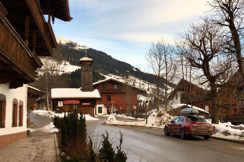 Mercedes C-Class in Alpbach, Austria