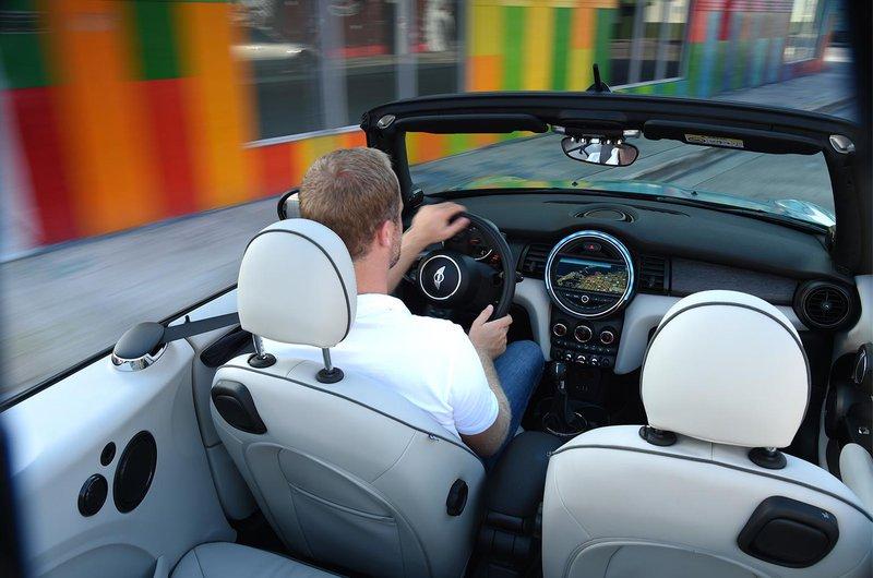 Mini Convertible interior