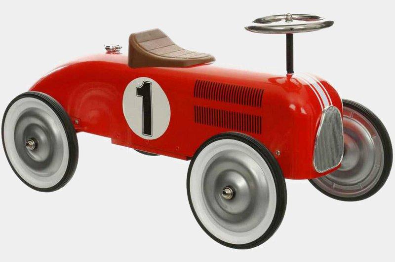 Metal Ride on Racing Car