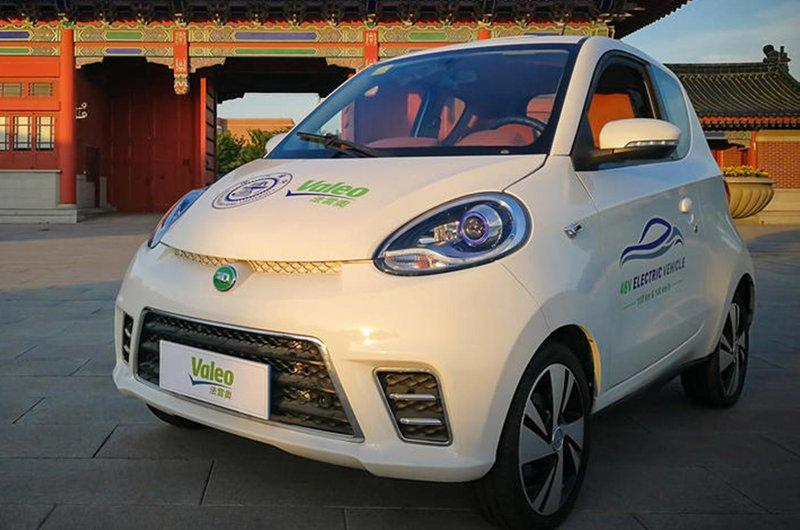 Valeo electric city car