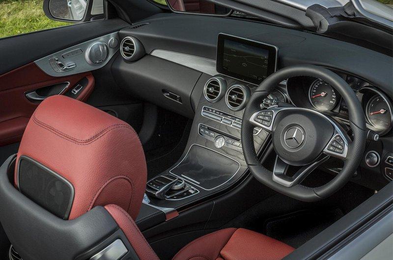 Mercedes-Benz C-Class Cabriolet interior