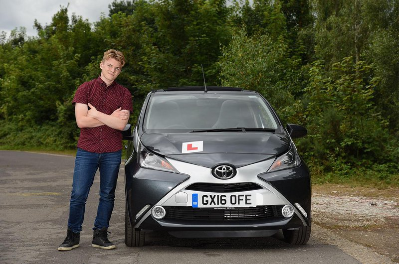 New driver with Toyota Aygo
