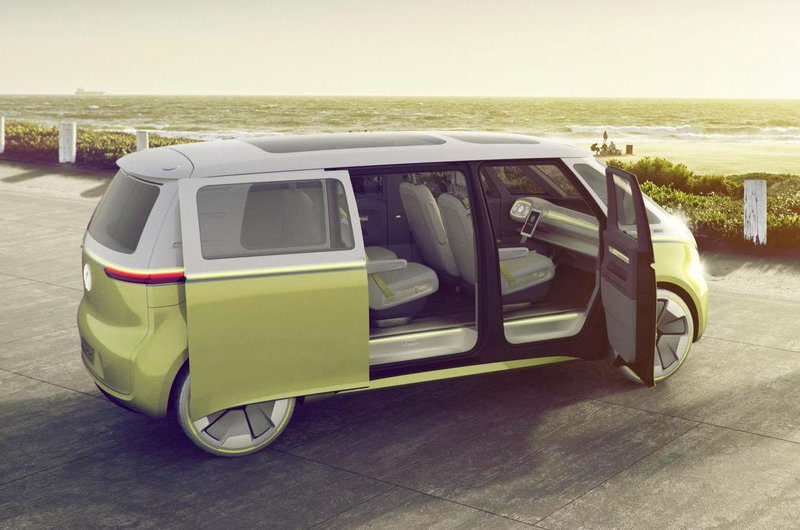 Volkswagen ID Buzz door open