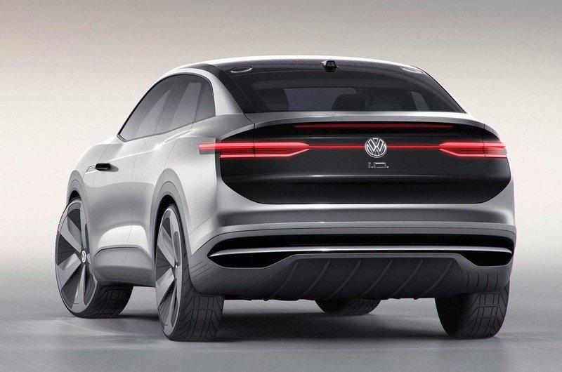 Volkswagen ID Crozz rear