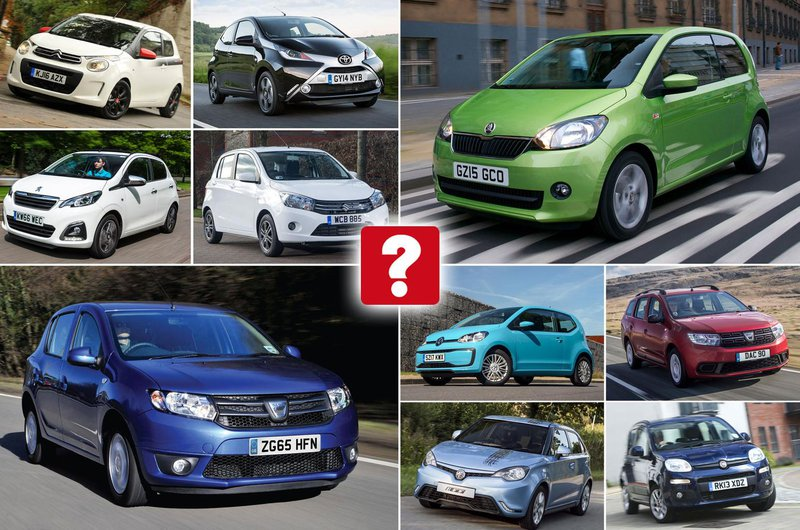 The UK's cheapest new cars