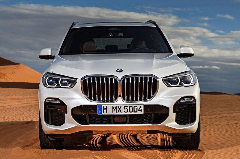 2018 BMW X5 nose