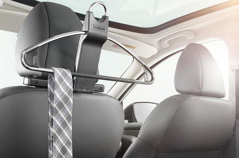 Nissan Leaf coat hanger