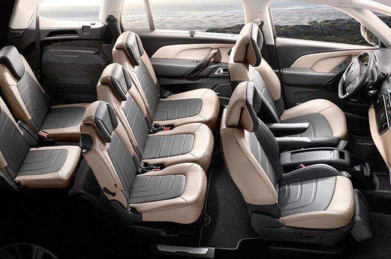 Citroen Grand C4 Spacetourer interior