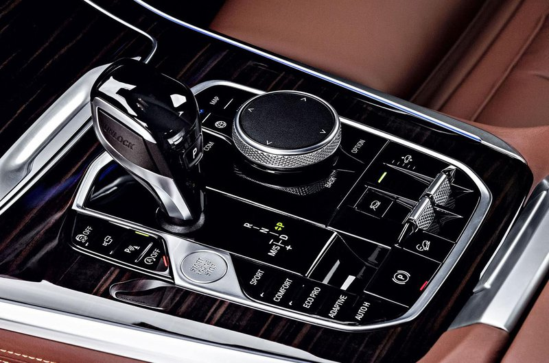 2018 BMW X5 centre console