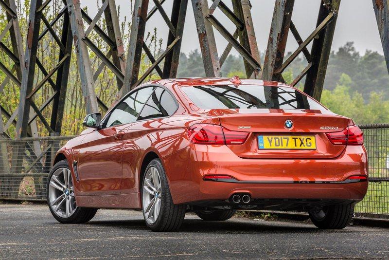 BMW 4 Series rear view