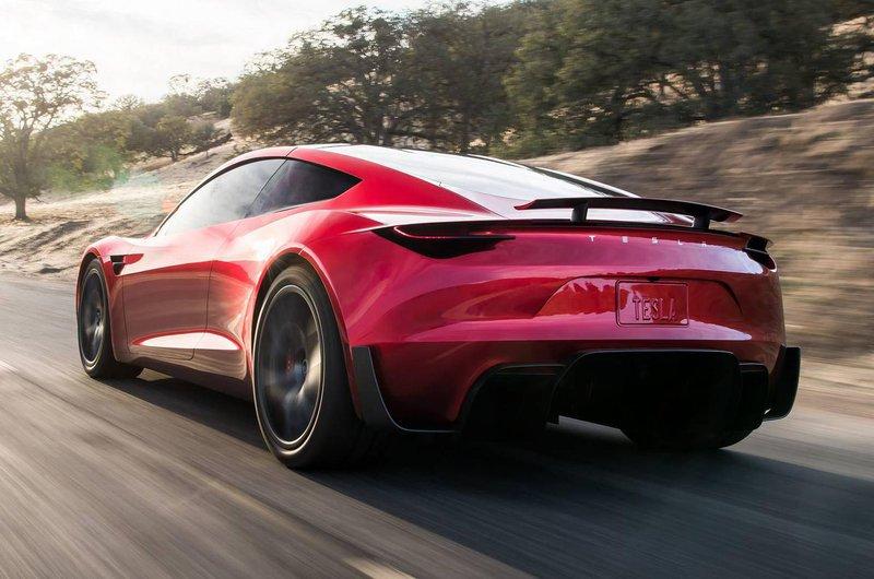 Tesla Roadster rear