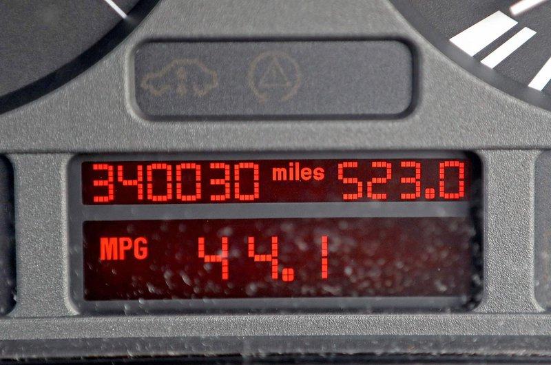 High-mileage cars
