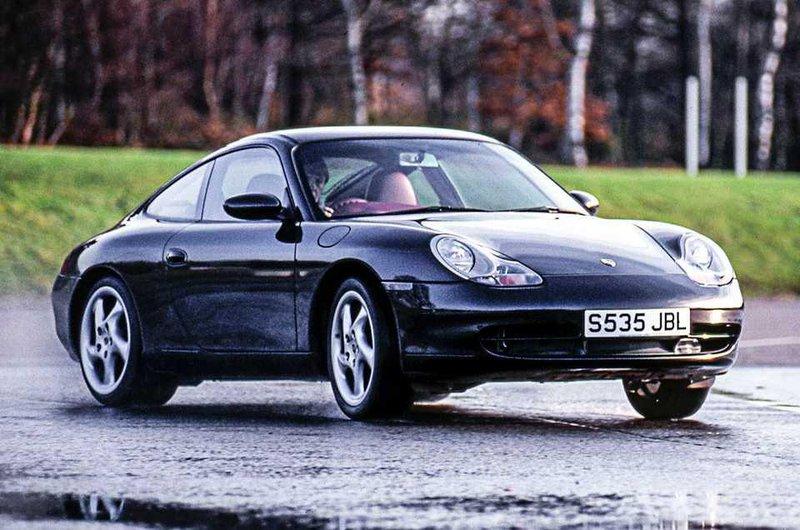 Porsche 996 front