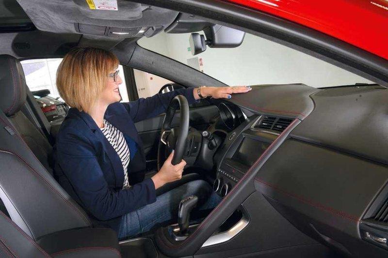 Jaguar E-Pace front seats