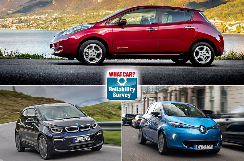 Best and worst electric cars for reliability