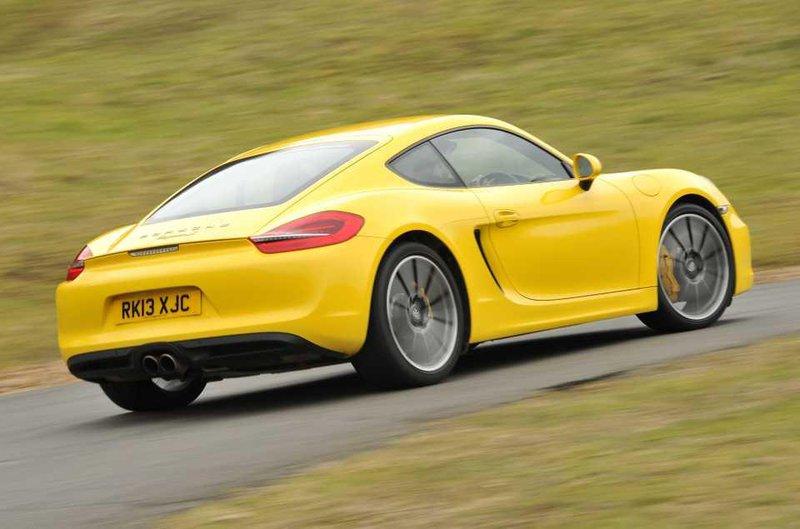 Porsche Cayman rear
