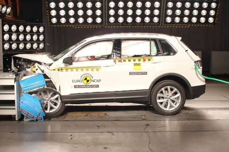 Volkswagen Tiguan crash test