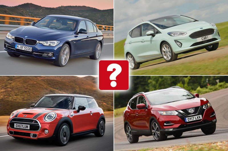 Top 10 most popular cars in the UK