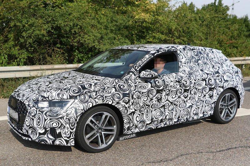 2019 Audi A3 spy shot