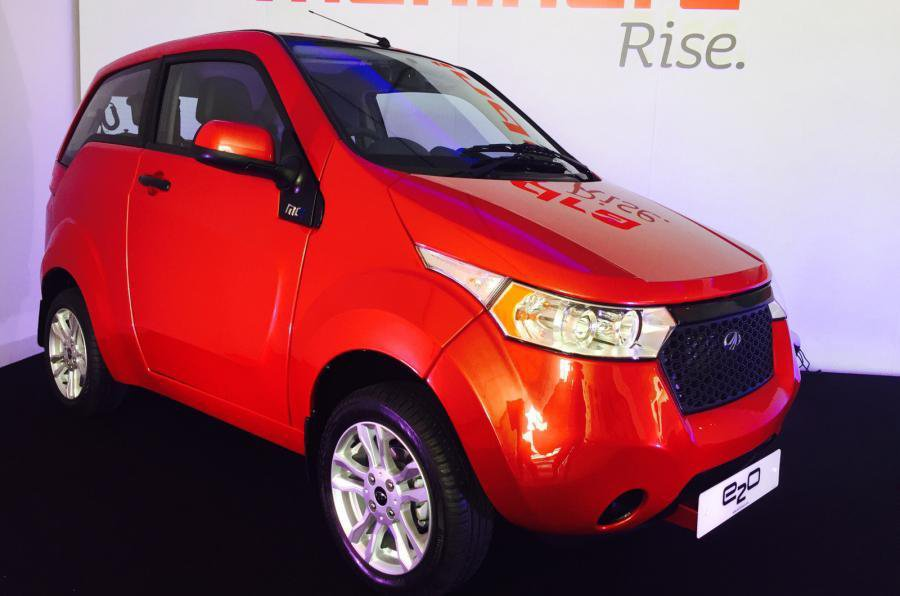 New Mahindra e2o electric car revealed