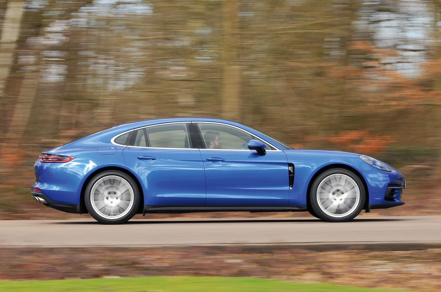 New Porsche Panamera vs Tesla Model S