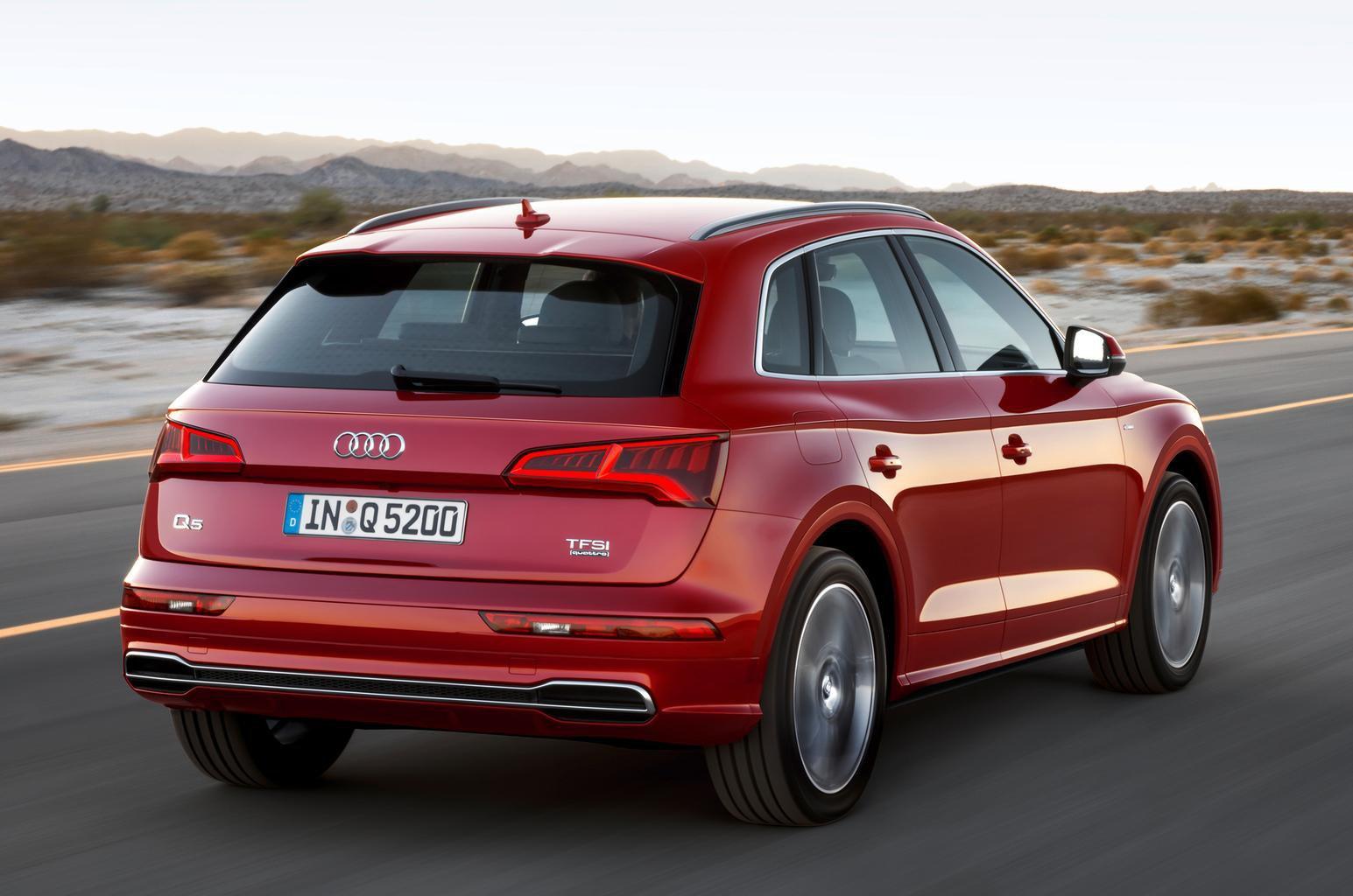 2017 Audi Q5 revealed at Paris motor show - plus video