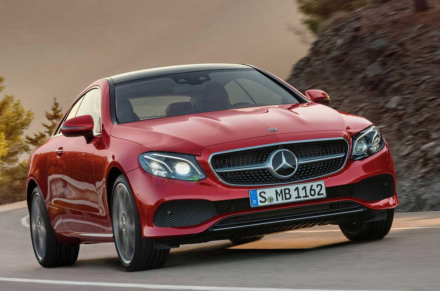 New Mercedes E-Class Coupe priced from £40,135