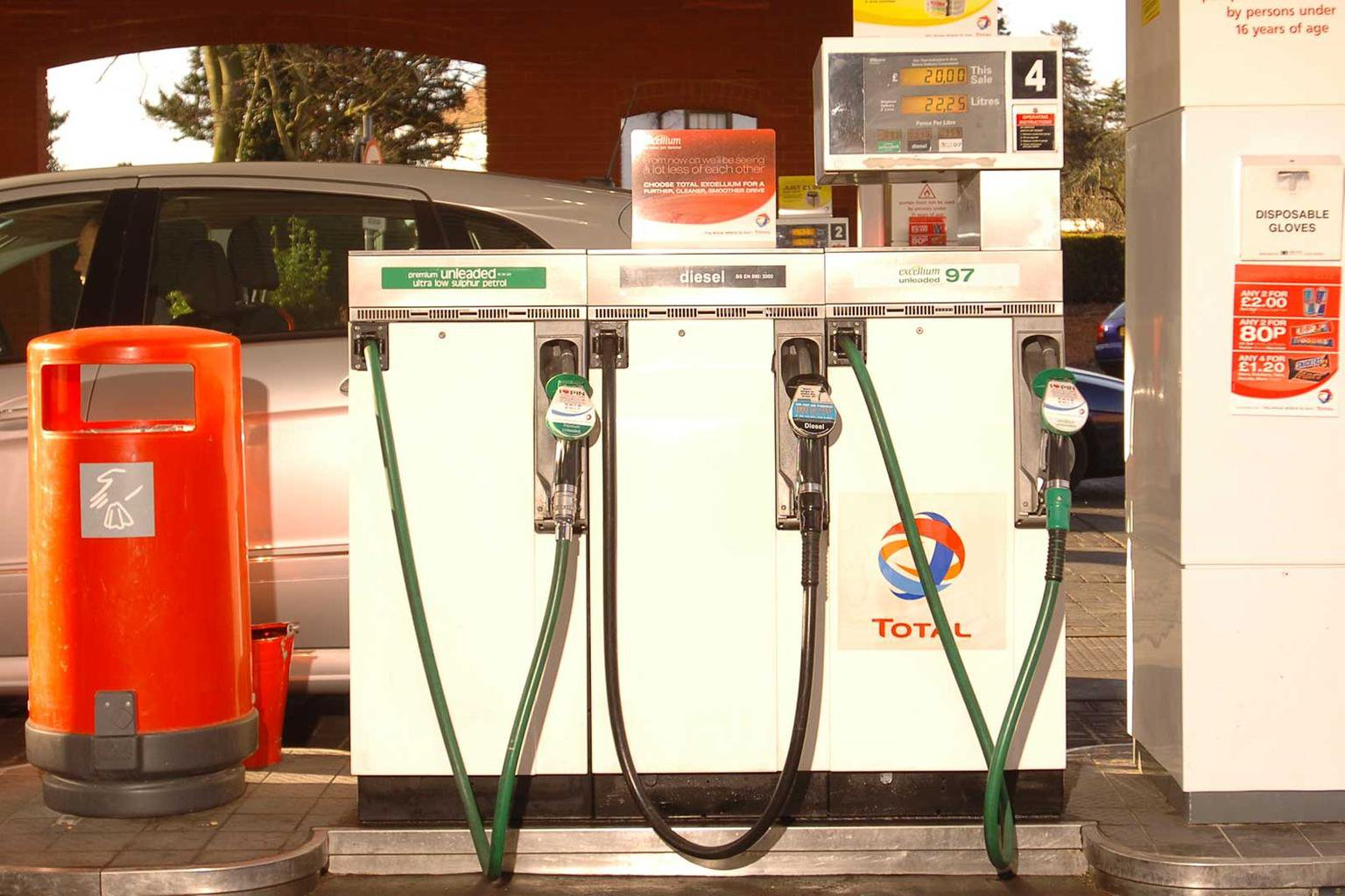 UK diesel prices are the highest in Europe