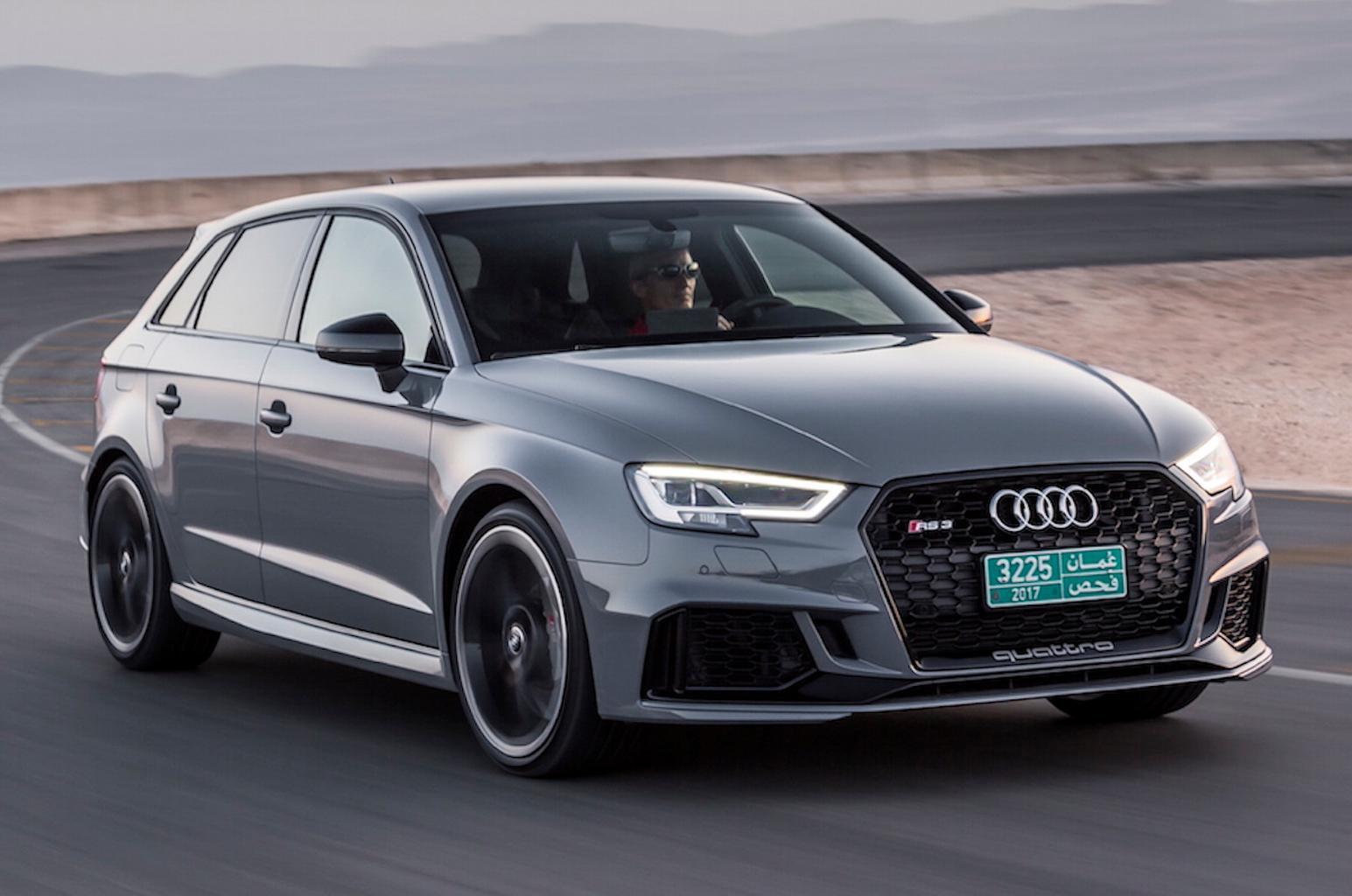 Audi RS3 Sportback 2017 review verdict and specs