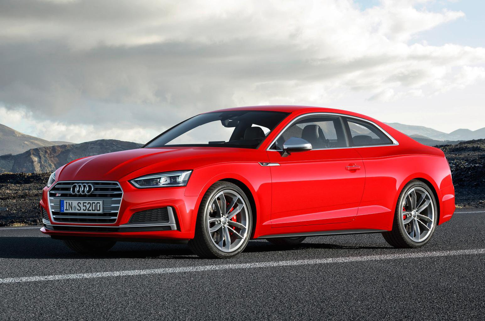 New Audi A5 unveiled