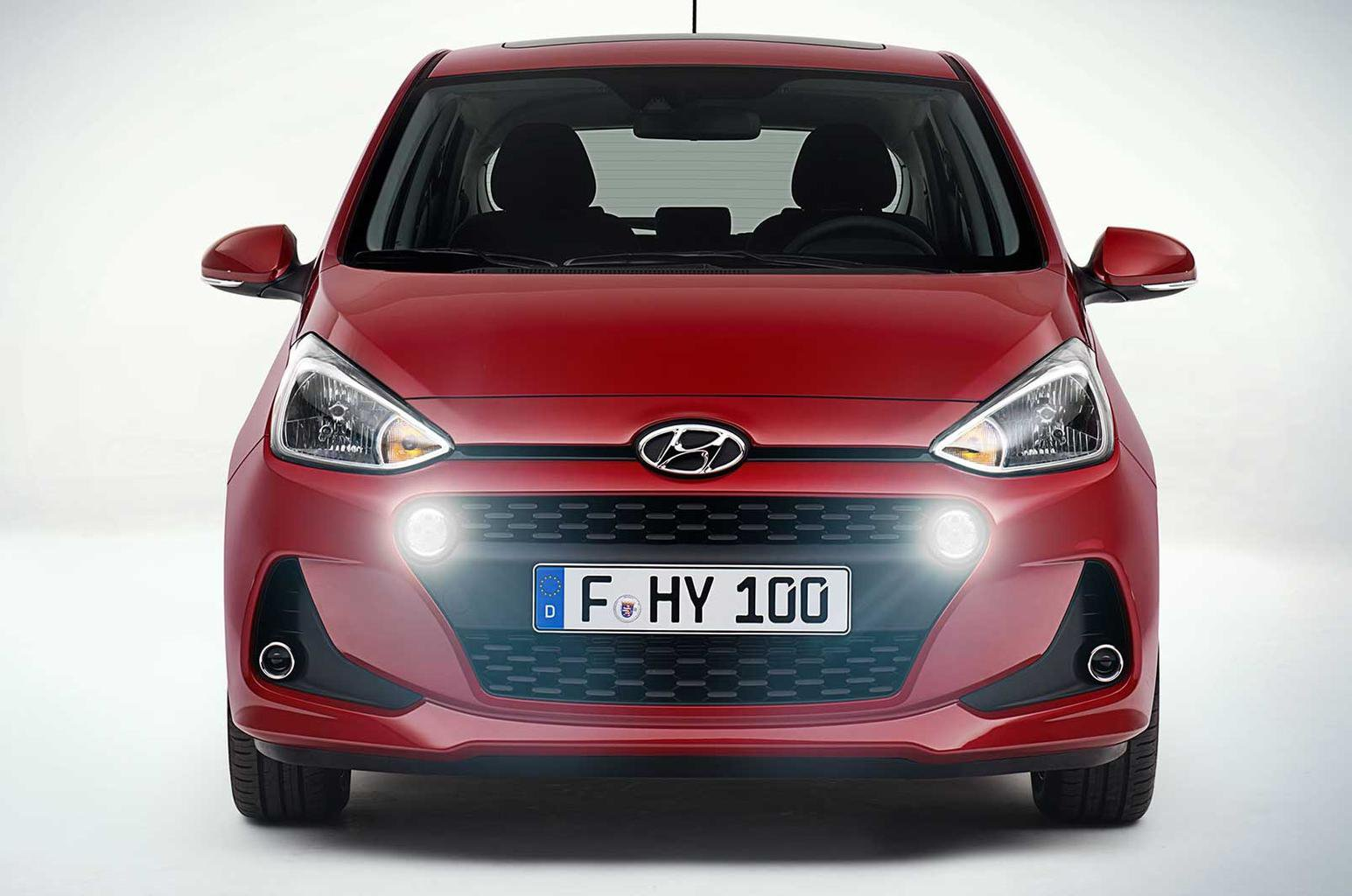 Facelifted Hyundai i10 to go on sale in January