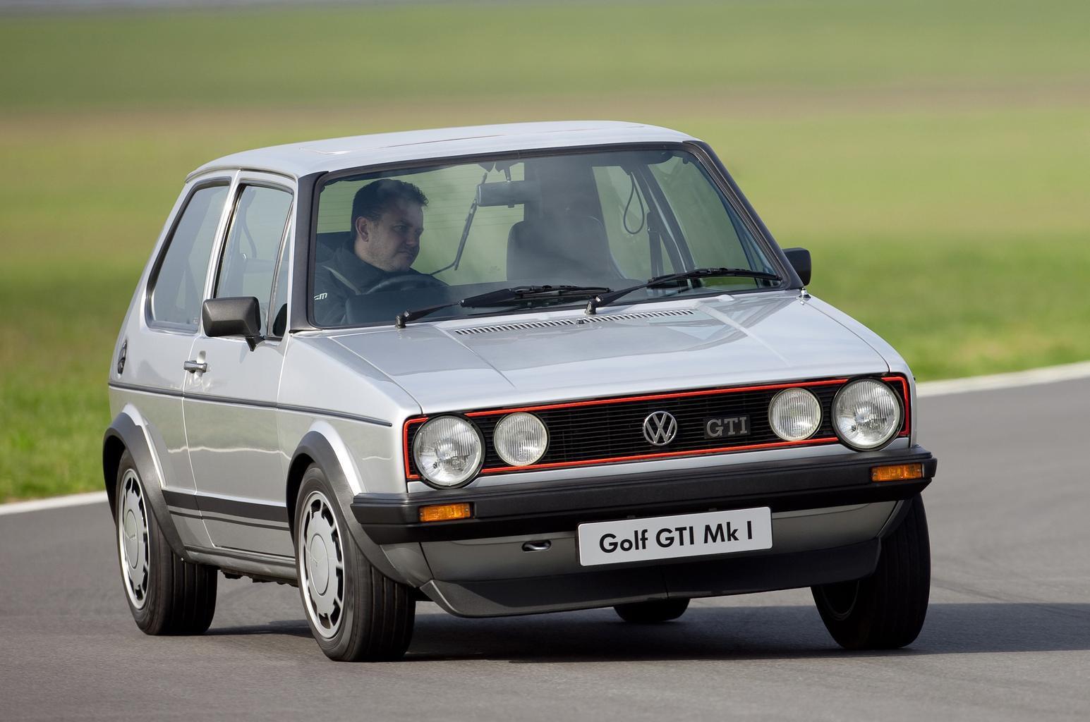 Volkswagen Up GTI vs Mk1 Golf GTI
