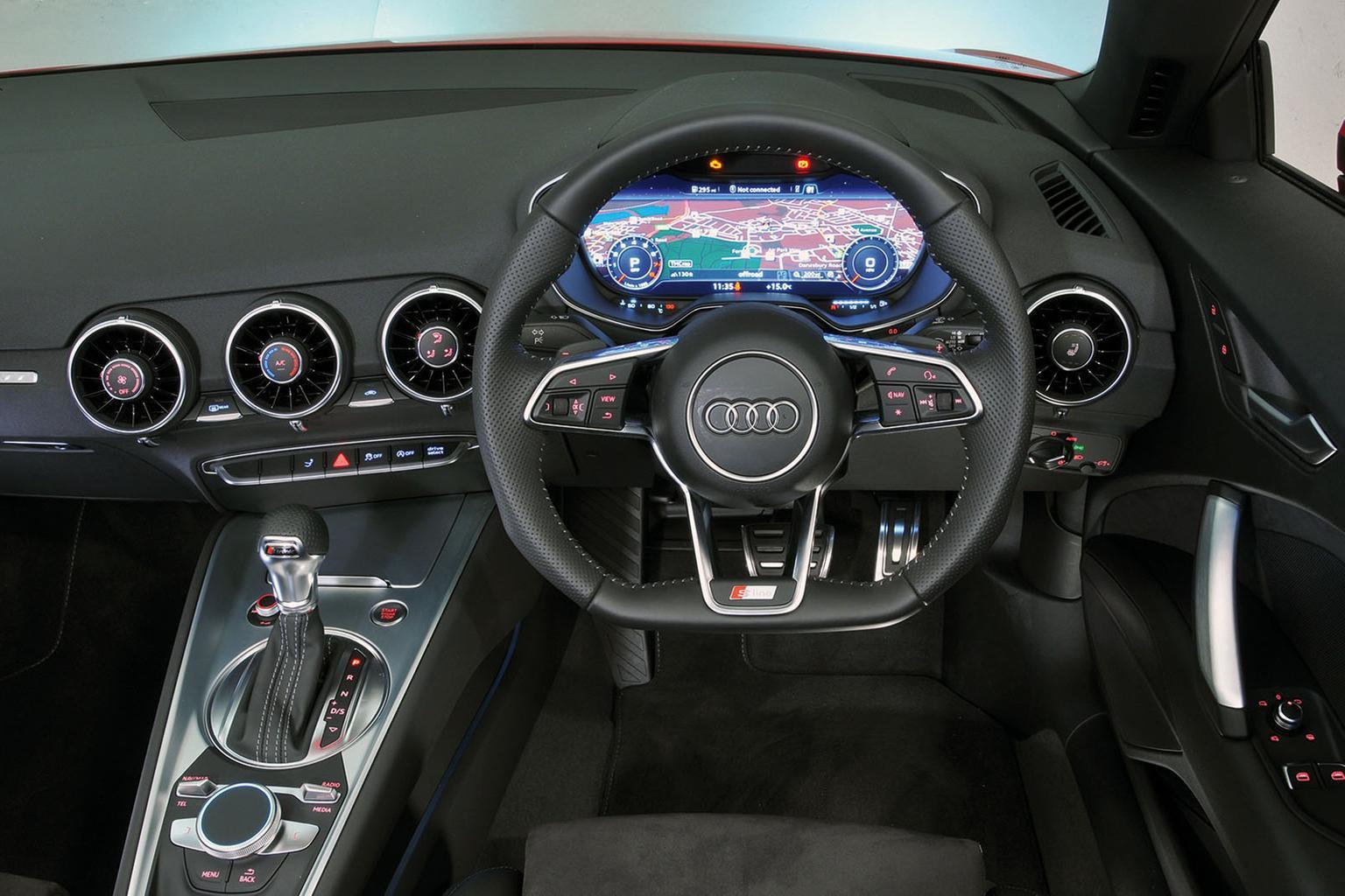 Audi TT Roadster vs Mercedes-Benz SLC