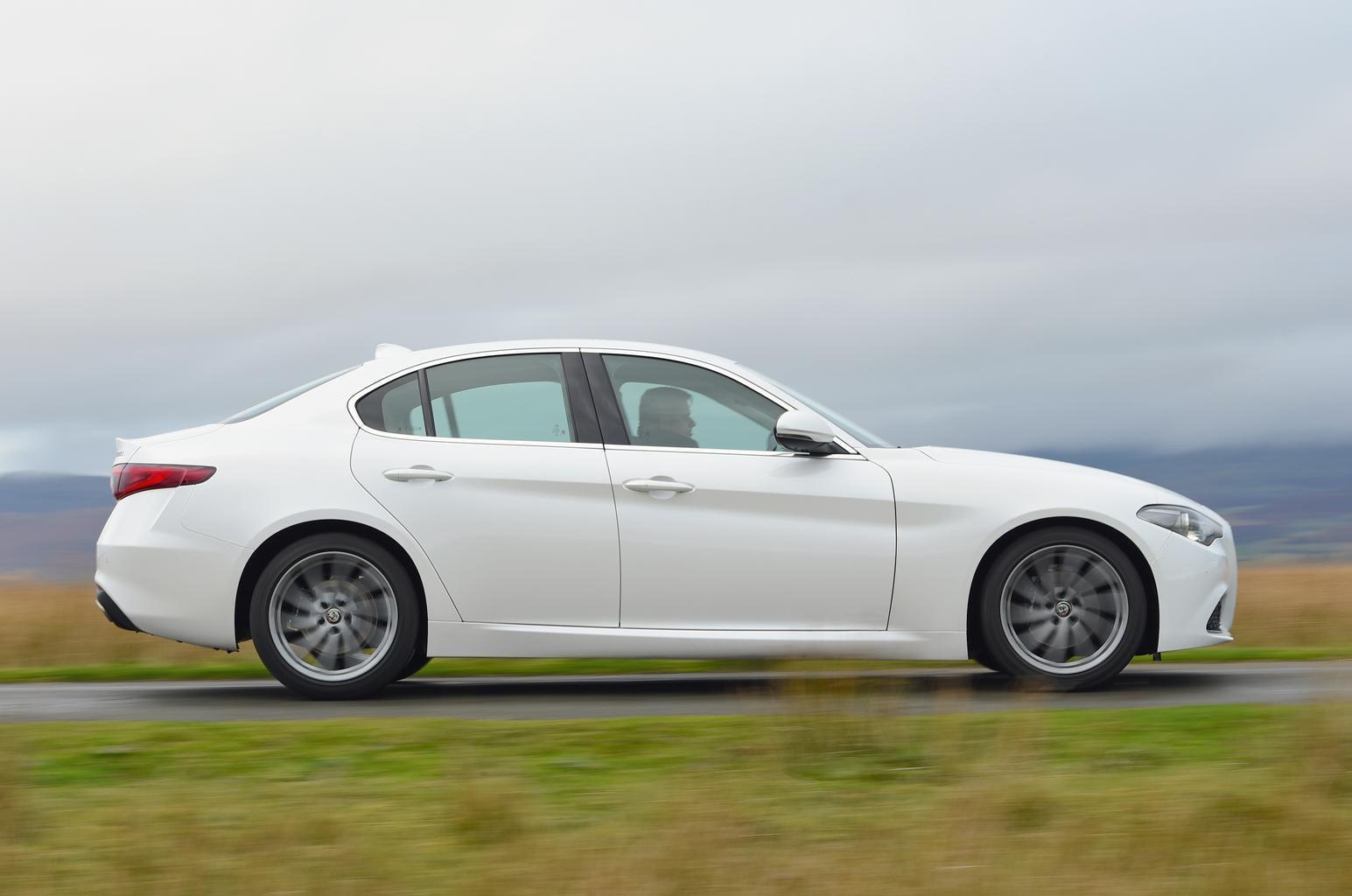 New Alfa Romeo Giulia vs Audi A4 vs BMW 3 Series