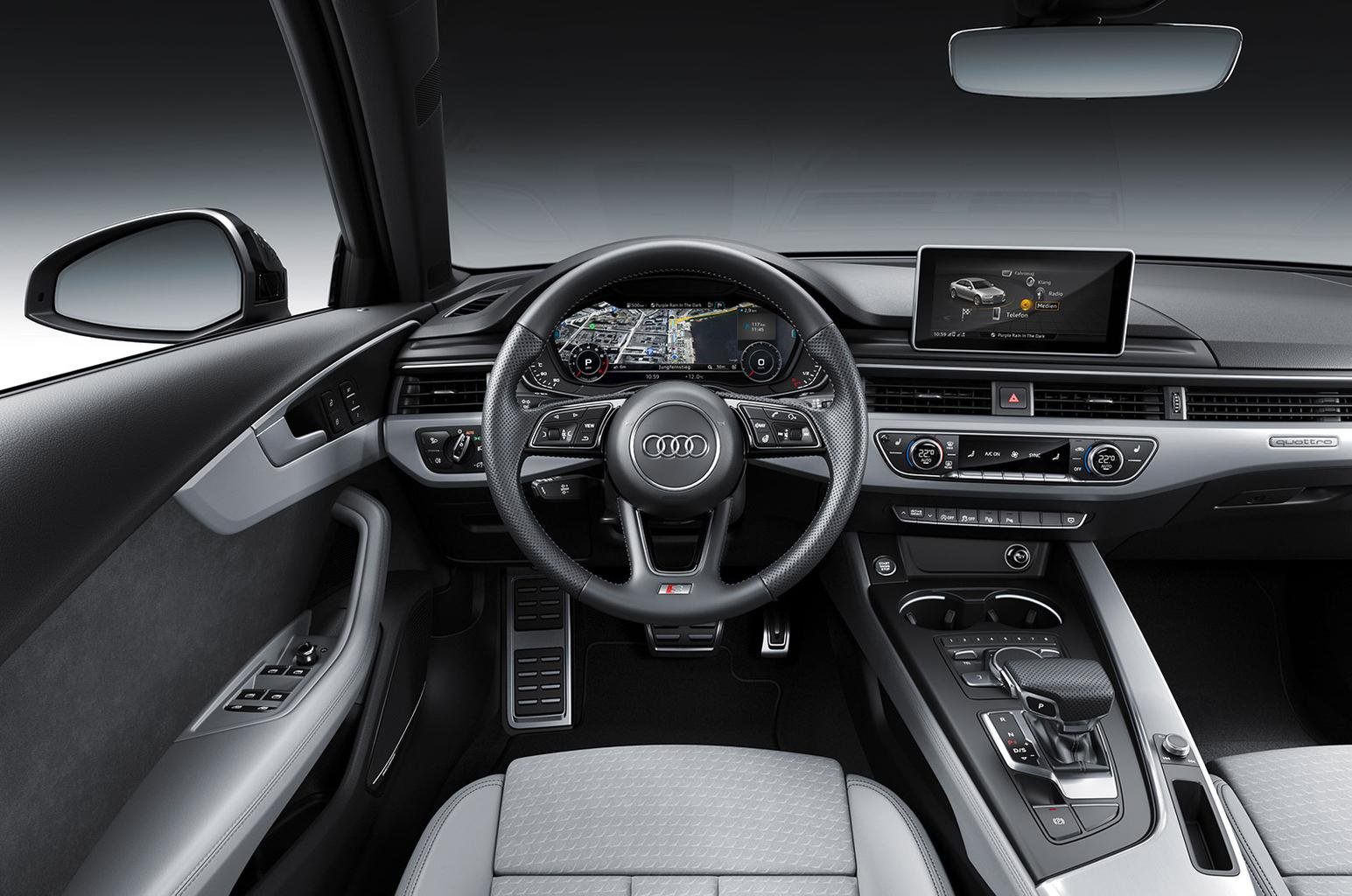 Audi A4 updated with new equipment and styling