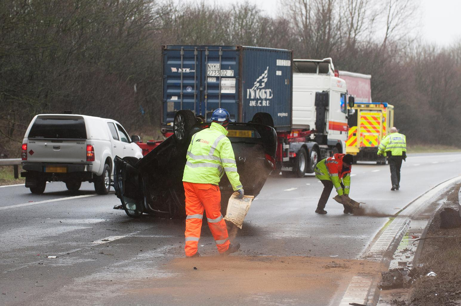 Police lorry catches 4000 dangerous drivers
