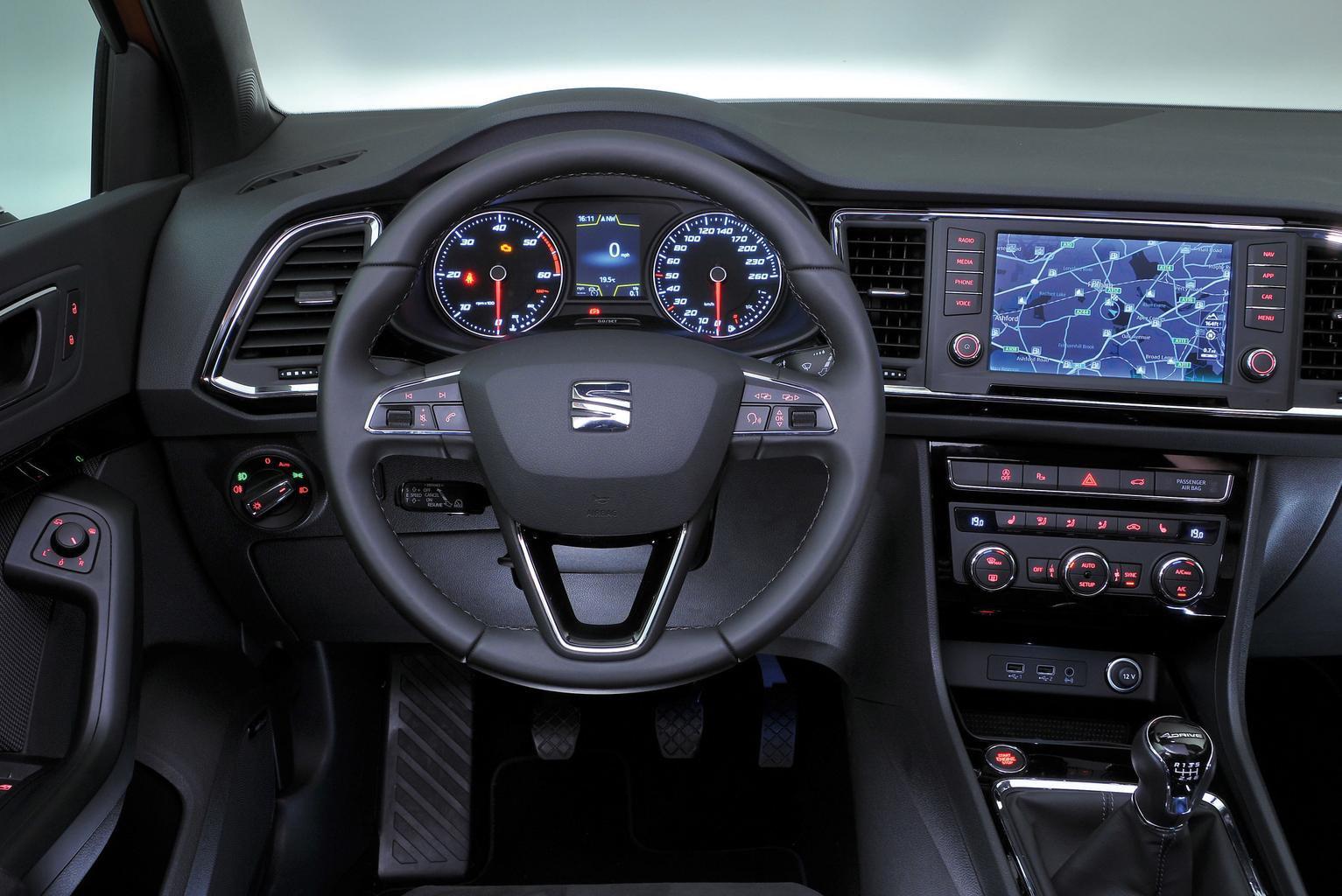 Seat Ateca vs Nissan Qashqai and Kia Sportage