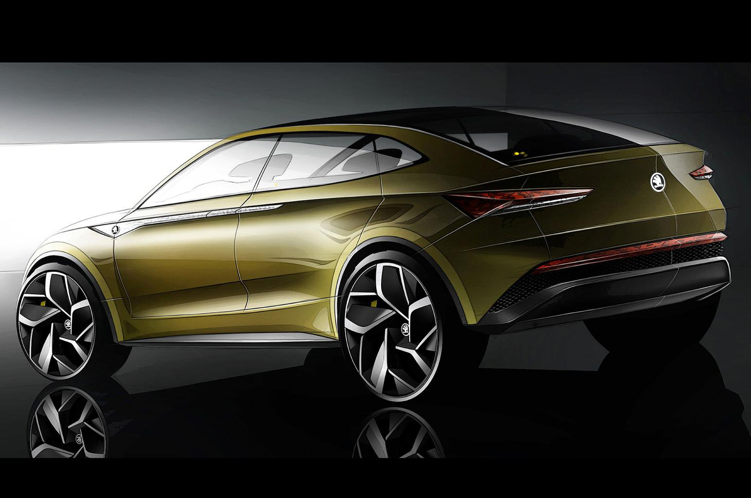 Skoda Vision E concept to arrive in 2020