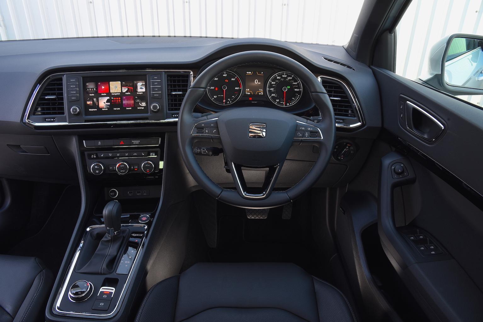 Seat Ateca 2.0 TDI 190 4Drive 2017 review