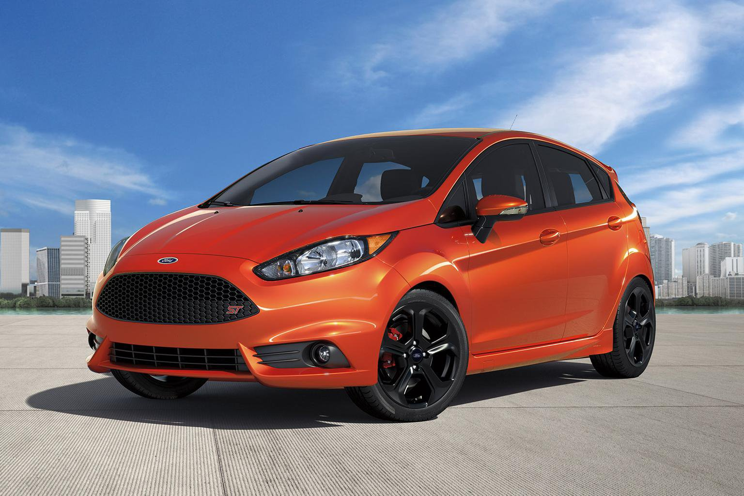New five-door Ford Fiesta ST revealed