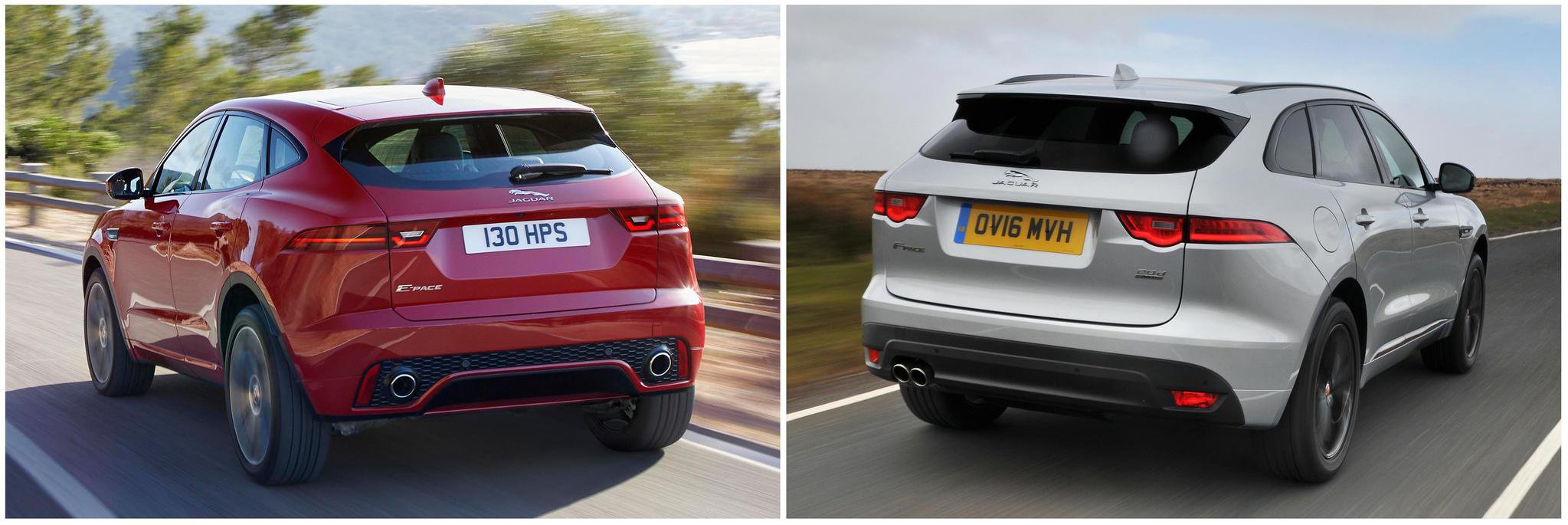 New Jaguar E-Pace vs Jaguar F-Pace