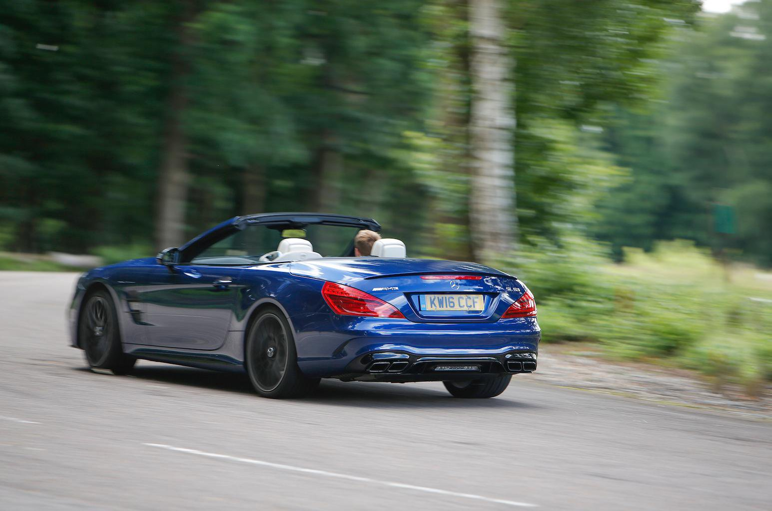2016 Mercedes-AMG SL 63 review